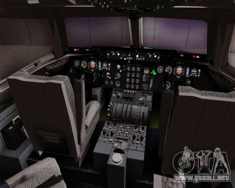 McDonnell Douglas DC-10-30 Singapore Airlines para GTA San Andreas interior