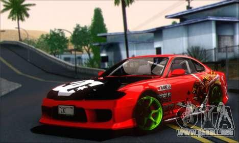 Nissan Silvia S15 Team Drift Monkey para GTA San Andreas