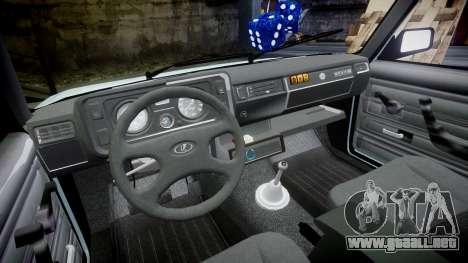 VAZ-21054 para GTA 4 vista interior