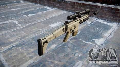 Rifle Mk 17 CICATRIZ-H para GTA 4 segundos de pantalla