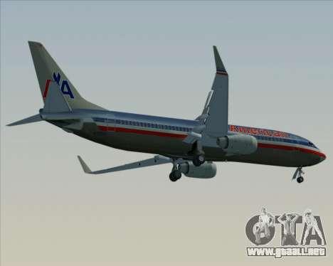 Boeing 737-800 American Airlines para el motor de GTA San Andreas
