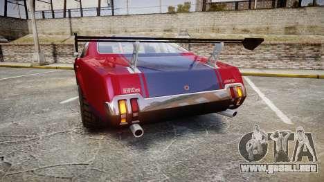 Declasse Sabre GT para GTA 4 Vista posterior izquierda