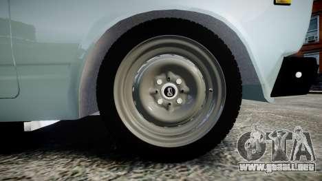 VAZ-21054 para GTA 4 vista hacia atrás
