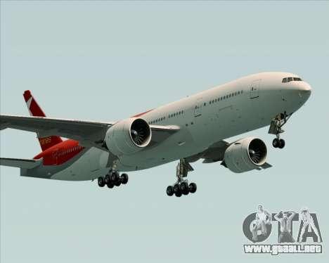 Boeing 777-21BER Nordwind Airlines para la visión correcta GTA San Andreas