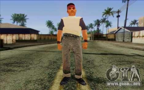 Cuban from GTA Vice City Skin 2 para GTA San Andreas