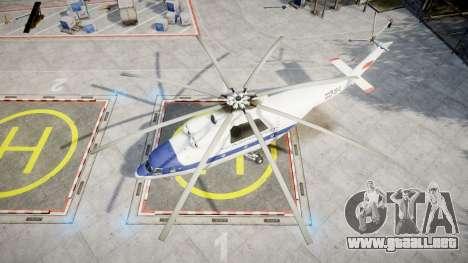 El Mi-26 para GTA 4 visión correcta