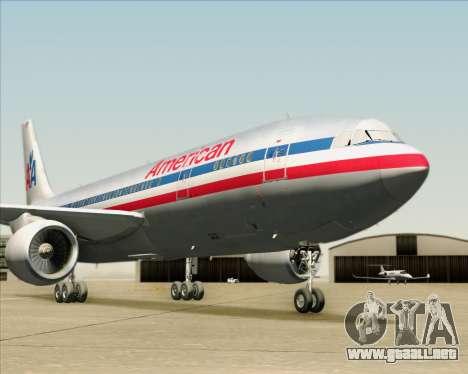 Airbus A300-600 American Airlines para el motor de GTA San Andreas