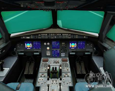 Airbus A321-200 Middle East Airlines (MEA) para GTA San Andreas interior