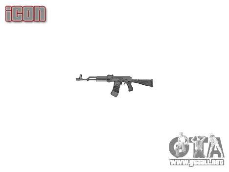Kalashnikov 101 para GTA 4 tercera pantalla