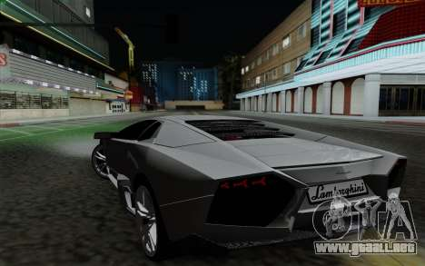 Lamborghini Reventon 2008 para GTA San Andreas left