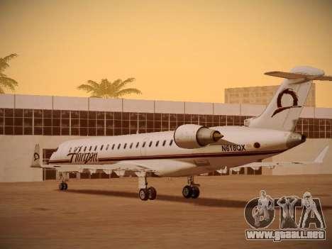 Bombardier CRJ-700 Horizon Air para vista inferior GTA San Andreas