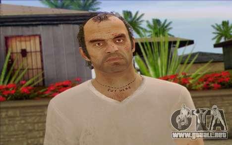 Trevor from GTA 5 para GTA San Andreas tercera pantalla