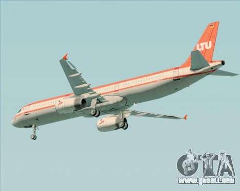 Airbus A321-200 LTU International para visión interna GTA San Andreas