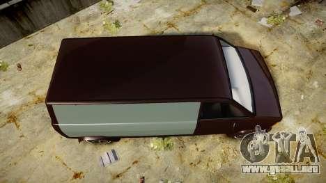 Declasse Burrito Custom para GTA 4 visión correcta
