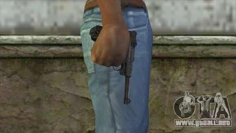 Luger P-08 para GTA San Andreas tercera pantalla