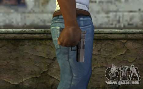 Glock from Half - Life Paranoia para GTA San Andreas tercera pantalla