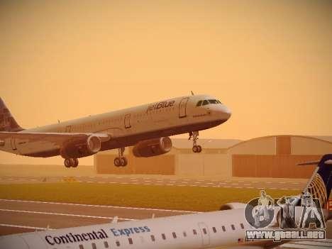 Airbus A321-232 jetBlue Do-be-do-be-blue para GTA San Andreas left