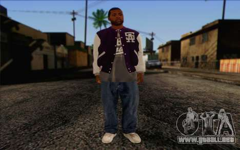 Ballas from GTA 5 Skin 2 para GTA San Andreas