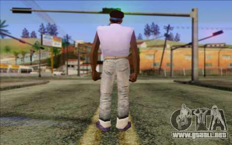 Haitian from GTA Vice City Skin 2 para GTA San Andreas segunda pantalla