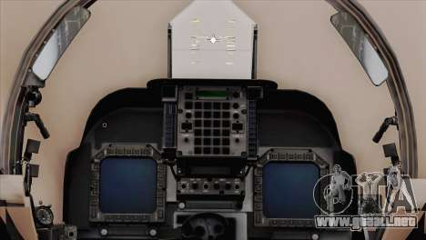 EMB AV-8 Harrier II USA NAVY para la visión correcta GTA San Andreas