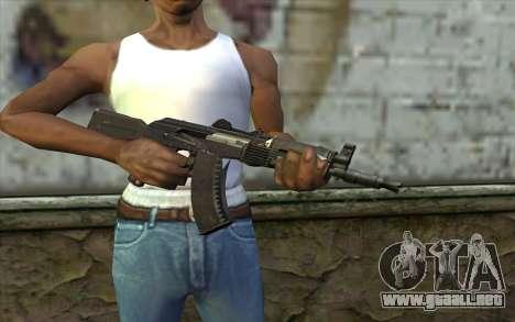 Moderno AKS-74U para GTA San Andreas tercera pantalla