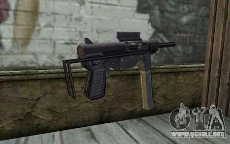 Grease Gun from Day of Defeat para GTA San Andreas segunda pantalla