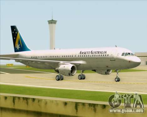 Airbus A320-200 Ansett Australia para GTA San Andreas left