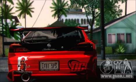 Nissan Silvia S15 Team Drift Monkey para GTA San Andreas left