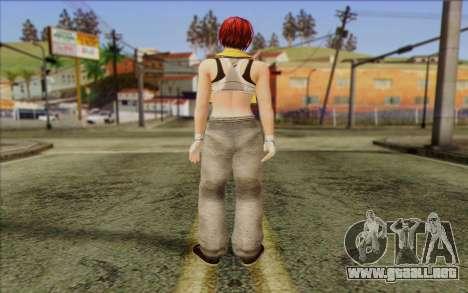 Mila 2Wave from Dead or Alive v15 para GTA San Andreas segunda pantalla