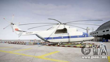 El Mi-26 para GTA 4 left