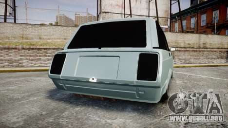 VAZ-2104 hooligan estilo de azerbaiyán para GTA 4 Vista posterior izquierda