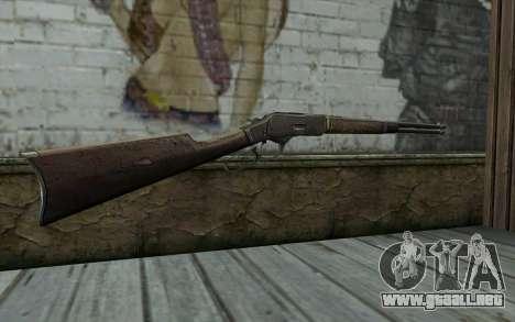 Winchester 1873 v2 para GTA San Andreas segunda pantalla