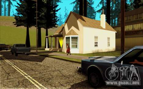 Nueva casa de CJ en Angel Pine para GTA San Andreas