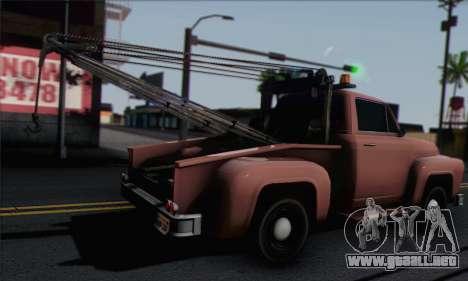 Towtruck GTA 5 para GTA San Andreas left