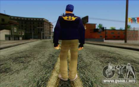 Diablo from GTA Vice City Skin 2 para GTA San Andreas segunda pantalla