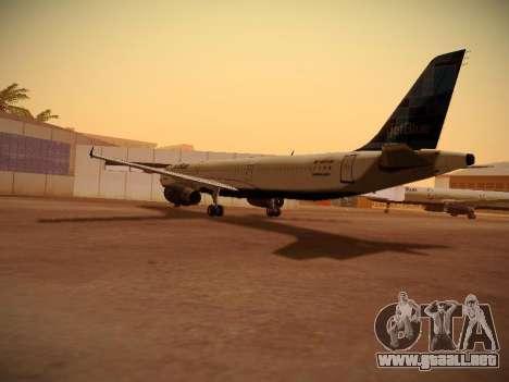 Airbus A321-232 jetBlue Do-be-do-be-blue para la visión correcta GTA San Andreas