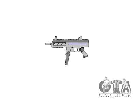 Pistola de SMT40 no a tope icon3 para GTA 4 tercera pantalla