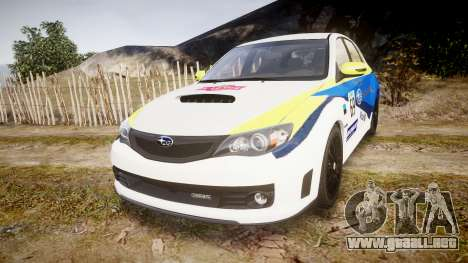 Subaru Impreza Cosworth STI CS400 2010 Custom para GTA 4