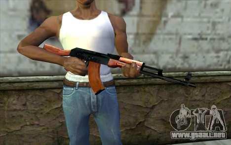 АКМ de la Mitad de la Vida de la Paranoia para GTA San Andreas tercera pantalla