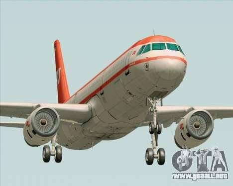 Airbus A321-200 LTU International para GTA San Andreas left