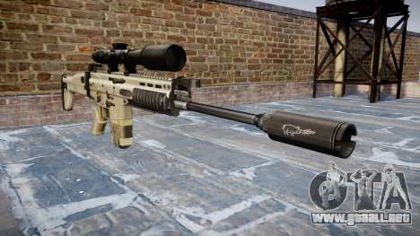 Rifle Mk 17 CICATRIZ-H para GTA 4