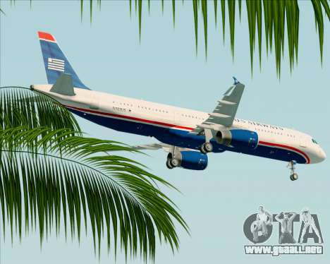 Airbus A321-200 US Airways para GTA San Andreas