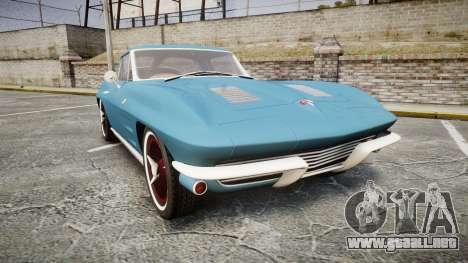 Chevrolet Corvette Stingray 1963 v2.0 para GTA 4