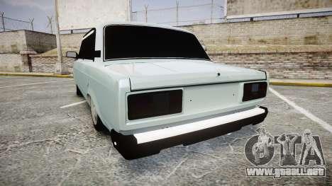VAZ-21054 para GTA 4 Vista posterior izquierda