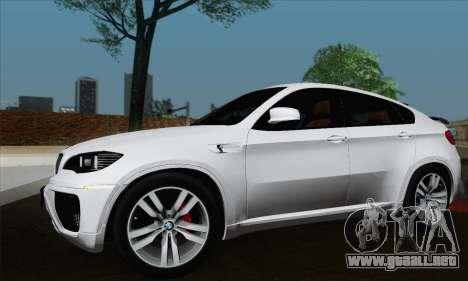 BMW X6M 2013 para GTA San Andreas