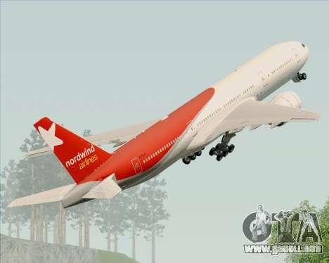Boeing 777-21BER Nordwind Airlines para GTA San Andreas