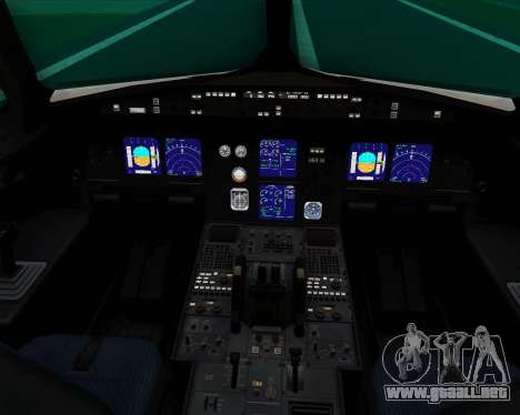Airbus A321-200 Thomas Cook Airlines para GTA San Andreas interior