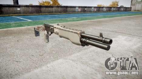Ружье Franchi SPAS-12 Choco para GTA 4