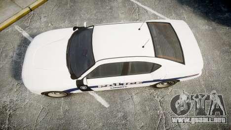 GTA V Bravado Buffalo Liberty Police [ELS] Slick para GTA 4 visión correcta