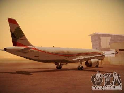 Airbus A321-232 Middle East Airlines para la visión correcta GTA San Andreas